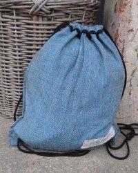 Colombo Drawstring Sack - Turquoise