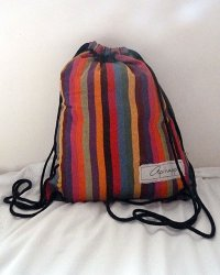 Colombo Drawstring Sack - Technicolor