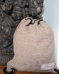 Colombo Drawstring Sack - Tan
