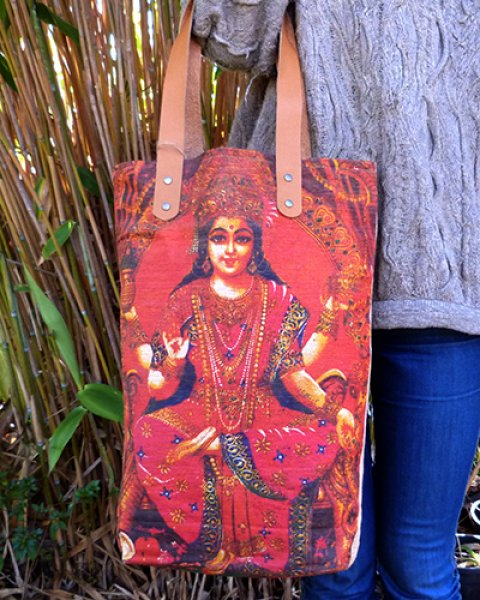 Balinese Canvas Bag 1