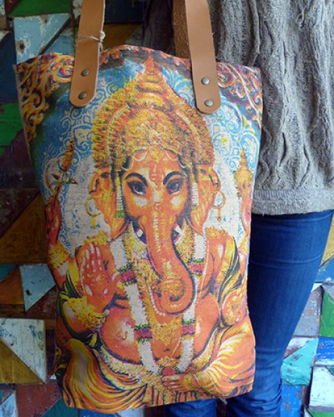 Balinese Canvas Bag 2