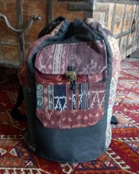 Ikat Bucket Bag 2