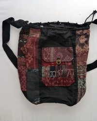 Ikat Bucket Bag 2