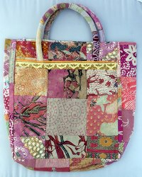 Batik Patchwork Carry Bag Large 2