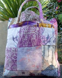 Batik Patchwork Carry Bag Large 1