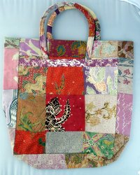 Batik Patchwork Carry Bag Large 3
