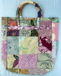 Batik Patchwork Carry Bag Large 3