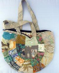 Batik Patchwork Moon Spoon Bag 4