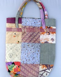 Batik Patchwork Carry Bag Small 1