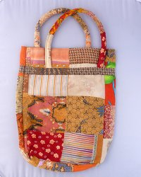 Batik Patchwork Carry Bag Small 2