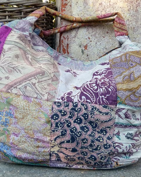 Batik Patchwork Tanaka Bag 1