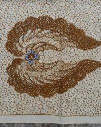 Old Indonesian Handmade Batik Sawat Motif Garuda