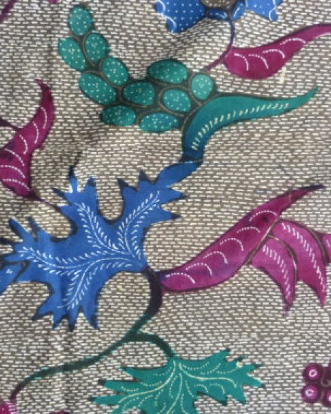 Old Handmade Indonesian Batik