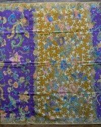 Old Fully Handmade Indonesian Sarong Batik Tuli