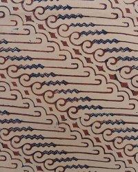 Old Handmade Indonesian Batik Parang Motif