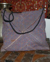 Old Banjarra Textile Shoulder Bag 7