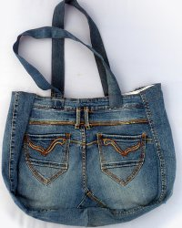Denim Bag - Old Jeans 1