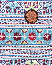 Hmong Embroidered Shoulder Bag 1