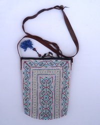 Hmong Embroidered Shoulder Bag 2