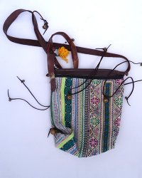 Hmong Embroidered Shoulder Bag 3