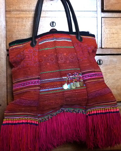 Hmong Embroidered Carry Bag