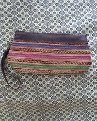 Hmong Leather Top Purse 1
