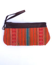 Hmong Leather Top Purse 2
