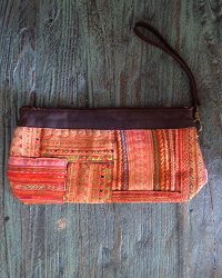 Hmong Leather Top Purse 4