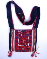 Hmong Small Shoulder Bag 1