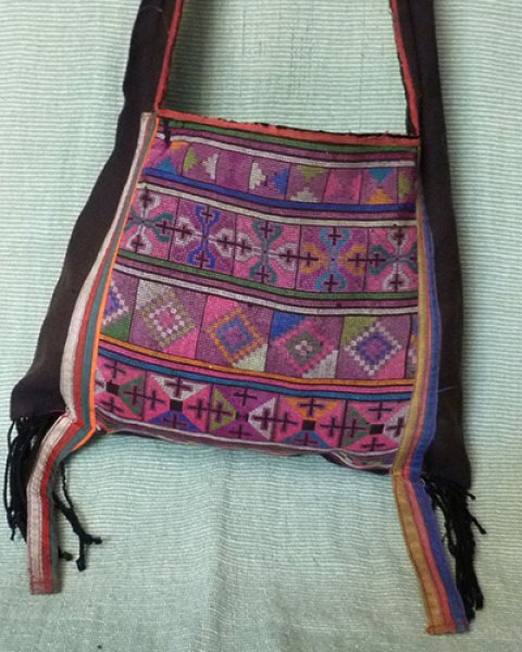 Hmong Small Shoulder Bag 2