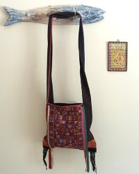 Hmong Small Shoulder Bag 3