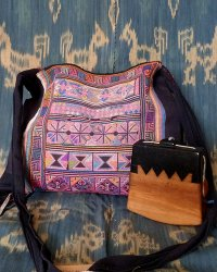 Hmong Small Shoulder Bag 4