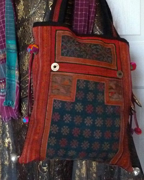 Hmong Large Carry Bag 3