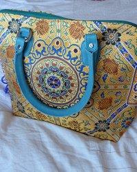 Tibetan Brocade Handbag 2