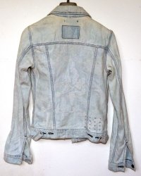 Denim Jacket Antique Thai Hill Tribe Embroidery Ksubi Baroque Bleach
