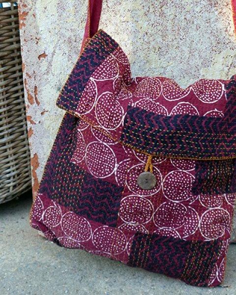Udaipur Red Shoulder Bag