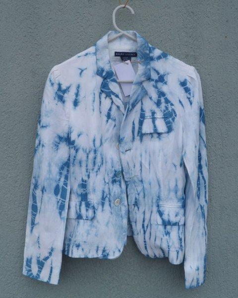 Ralph Lauren Indigo Dyed Shibori Jacket 2