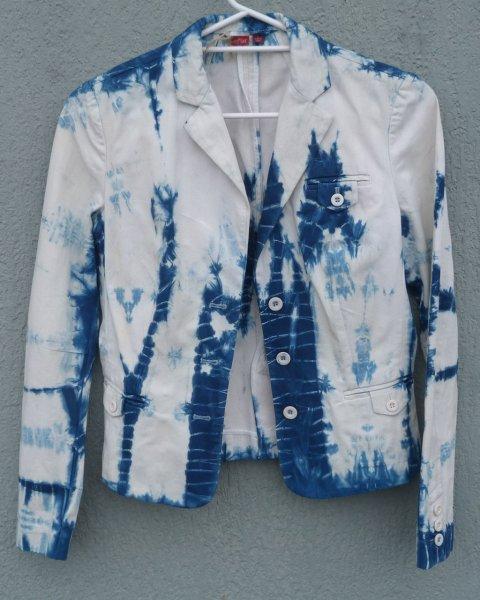 Esprit Indigo Dyed Shibori Jacket 1