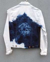 Cheap Monday Indigo Hand Dyed Shibori Jacket 4