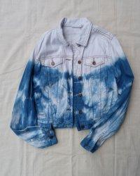 Cotton On Indigo Dyed Shibori Jacket 5
