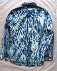 Ksubi Indigo Dyed Shibori Shirt 1