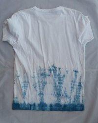 Indigo Dyed Shibori T-Shirt 9
