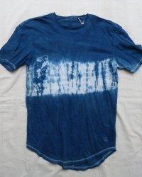 Indigo Dyed Shibori T-Shirt 40