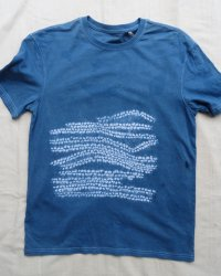 Indigo Dyed Shibori T-Shirt 51