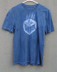 Indigo Dyed Shibori T-Shirt 53
